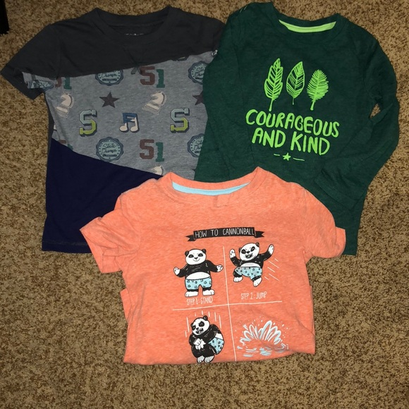 57e7948bfbf5 Cat & Jack Shirts & Tops | Cat Jack Tshirt Bundle Euc | Poshmark